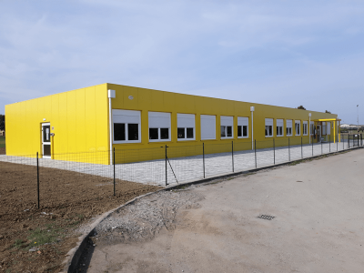 Scuola prefabbricata-Reggio Emilia