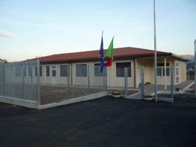 Scuola prefabbricata l'Aquila