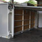 Container per emergenze vista esterna