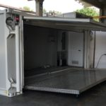 Container per emergenze apertura