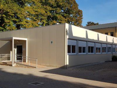 Scuola prefabbricata temporanea - Reggio Emilia