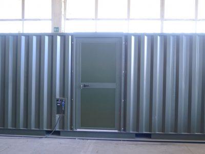 Shelter prefabbricato ad uso ufficio