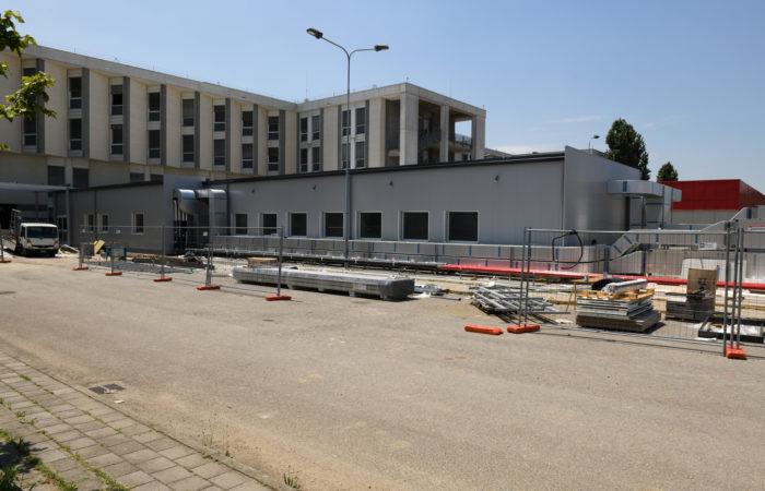 Hub per la terapia intensiva - Baggiovara - Modulcasa Line Spa
