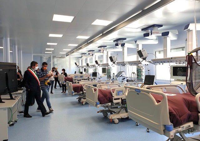 Inaugurazione dell'Hub per la terapia intensiva - Ospedale di Baggiovara