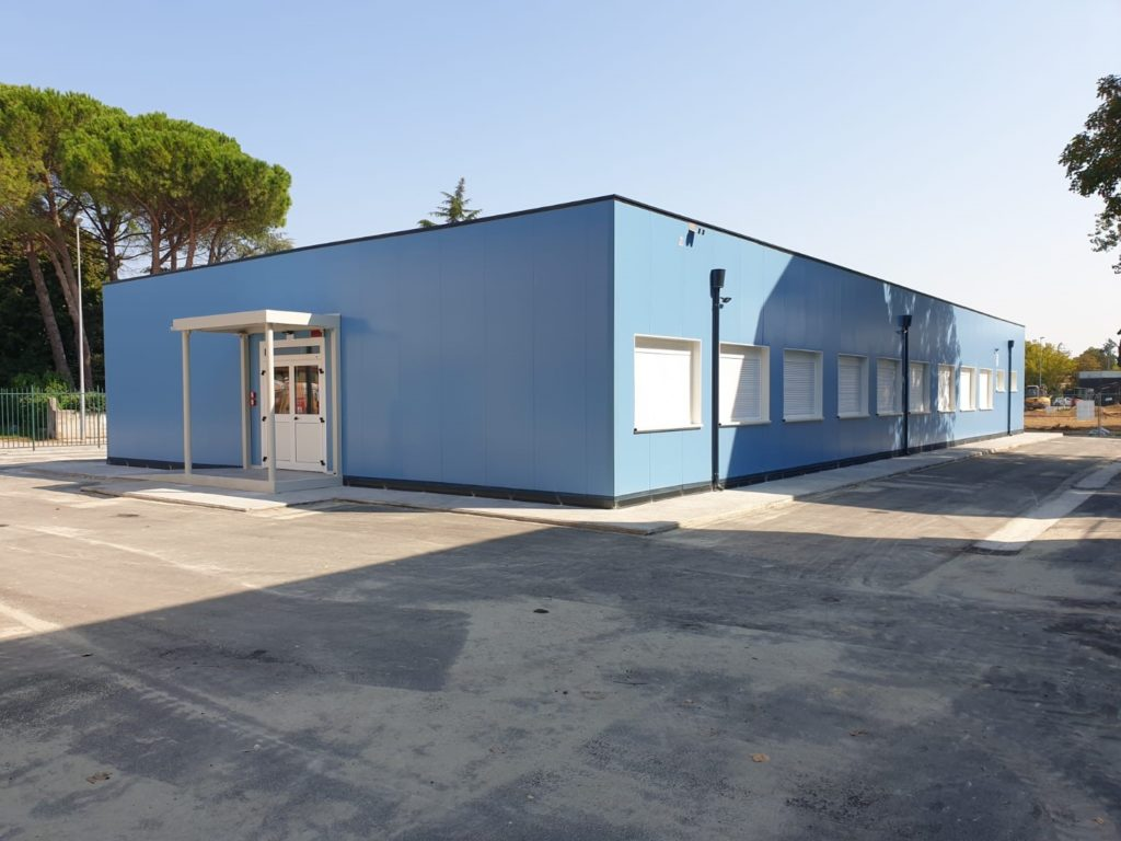 Scuola prefabbricata modulare