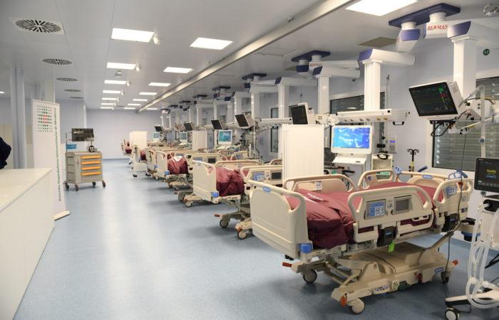 Hub nazionale e regionale per la terapia intensiva