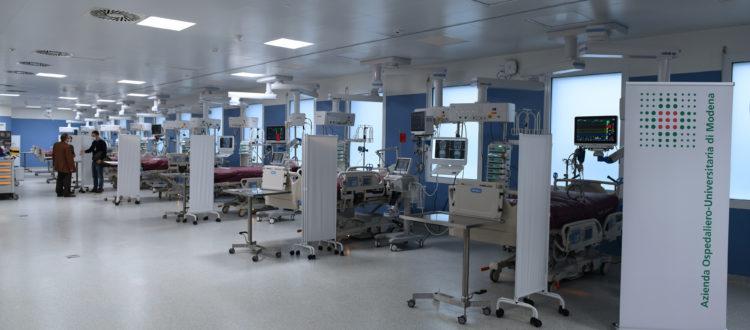 Hub terapia intensiva Policlinico di Modena